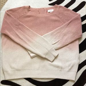 Like new,  Lucky ombré cotton sweater with bottoms